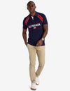 RUBBER DETAIL AND FLAG PATCH POLO SHIRT - U.S. Polo Assn.