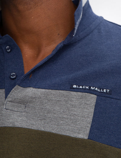 BLACK MALLET CLASSIC FIT POLO SHIRT. - U.S. Polo Assn.