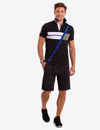 DIAGONAL COLORBLOCK POLO SHIRT - U.S. Polo Assn.