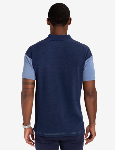BLACK MALLET CLASSIC FIT COLORBLOCK POLO SHIRT - U.S. Polo Assn.