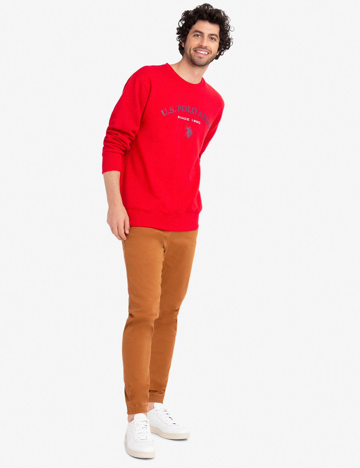 GRAPHIC CREW NECK SWEATSHIRT - U.S. Polo Assn.