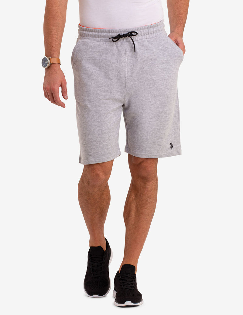 FRENCH TERRY KNIT SHORTS