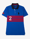CHEST STRIPE POLO SHIRT - U.S. Polo Assn.