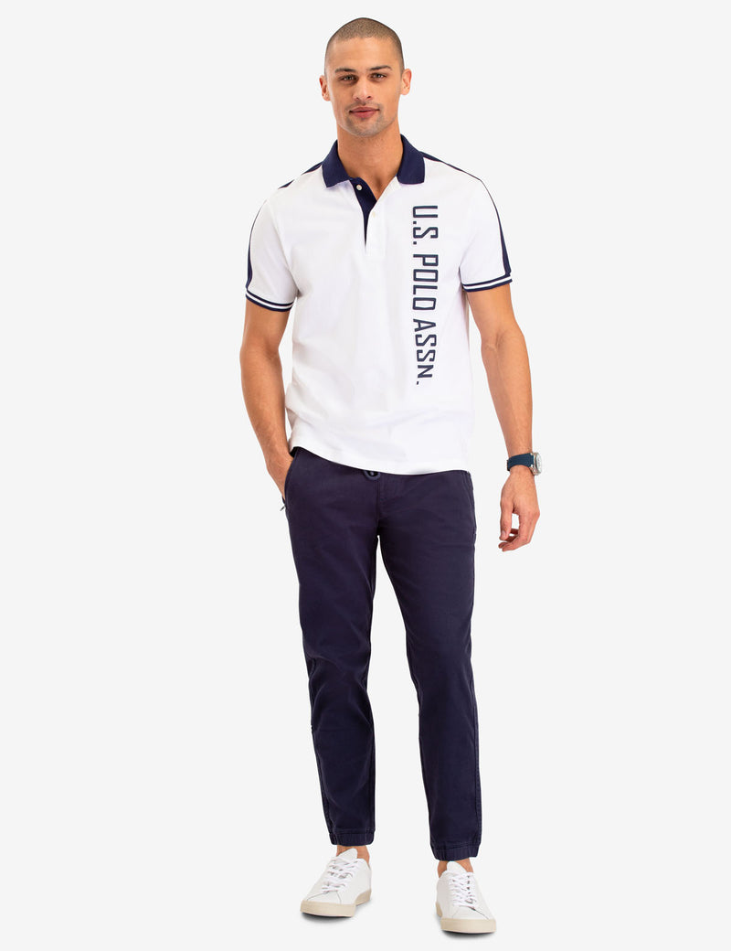 USPA VERTICAL LOGO POLO SHIRT