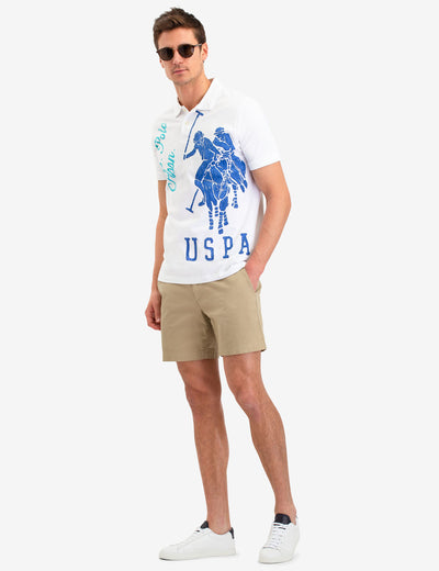 USPA GRAPHIC LOGO POLO SHIRT - U.S. Polo Assn.