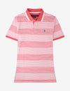 JERSEY STRIPED POLO SHIRT - U.S. Polo Assn.