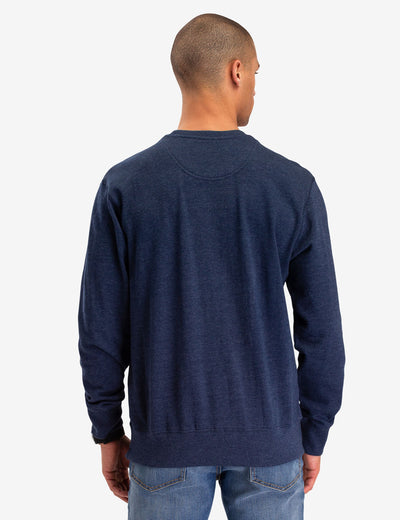 SOLID FRENCH TERRY CREW NECK SWEATSHIRT - U.S. Polo Assn.