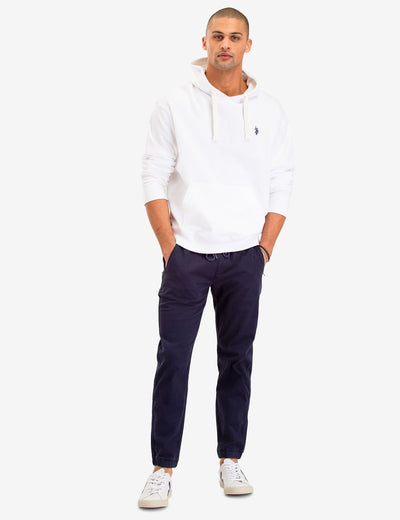 SOLID FRENCH TERRY HOODIE - U.S. Polo Assn.