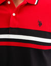 COLORBLOCK STRIPE POLO SHIRT - U.S. Polo Assn.