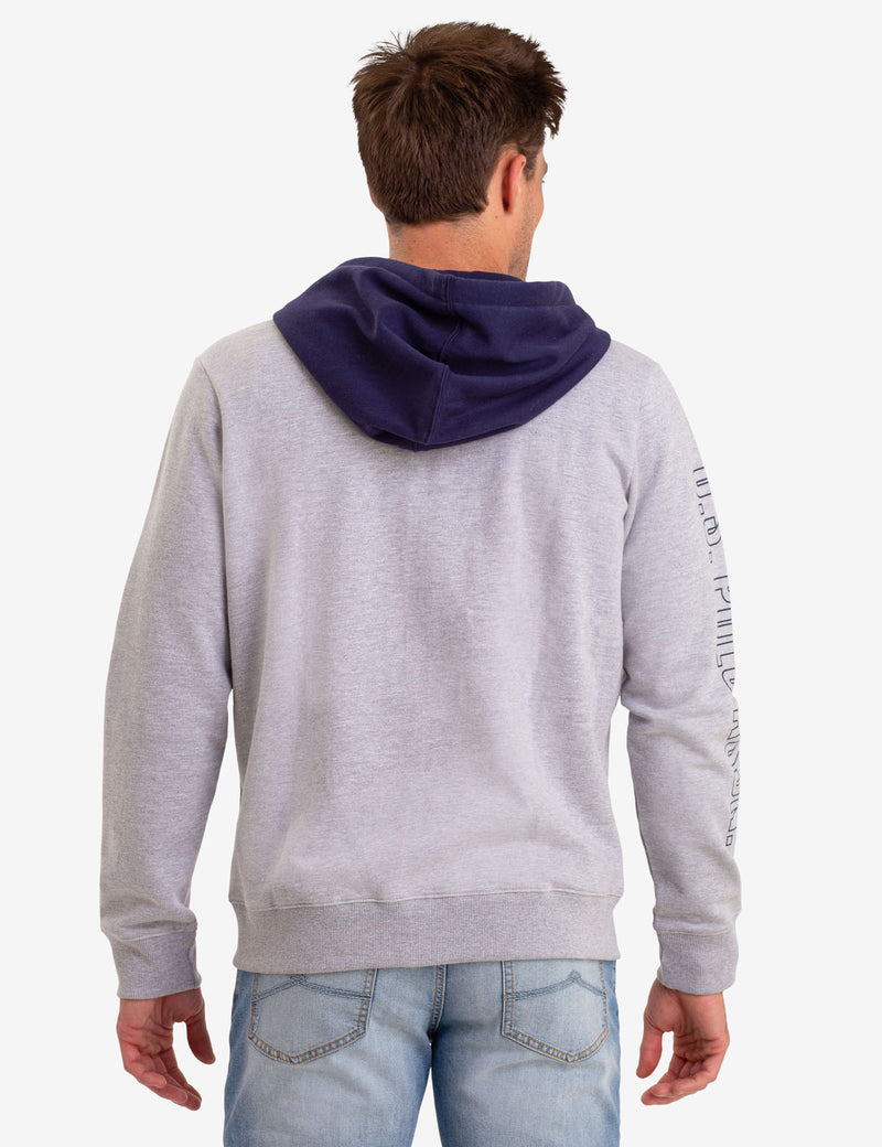 FRECH TERRY COLORBLOCK HOODIE
