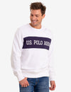 COLORBLOCK CREW NECK SWEAT SHIRT - U.S. Polo Assn.