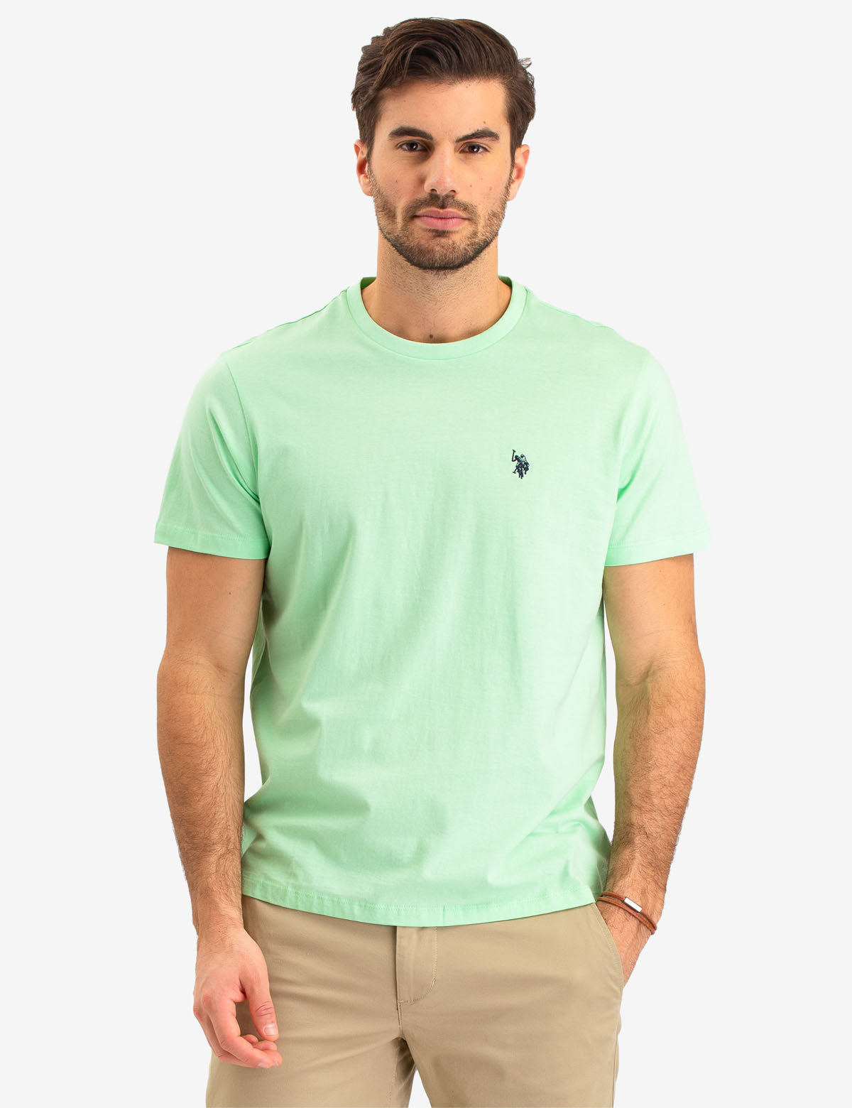 T-Shirts for Men Polo Short Sleeve T-Shirts Top Men Tees L