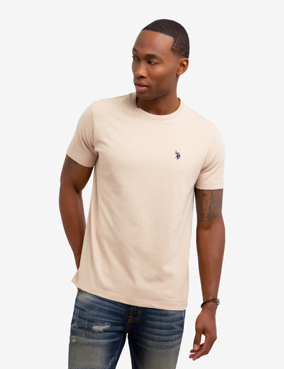 SOLID CREW NECK TEE SHIRT - U.S. Polo Assn.