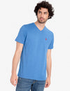 TWISTED YARN CREW NECK TEE-SHIRT - U.S. Polo Assn.