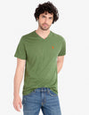TWISTED YARN CREW NECK T-SHIRT - U.S. Polo Assn.