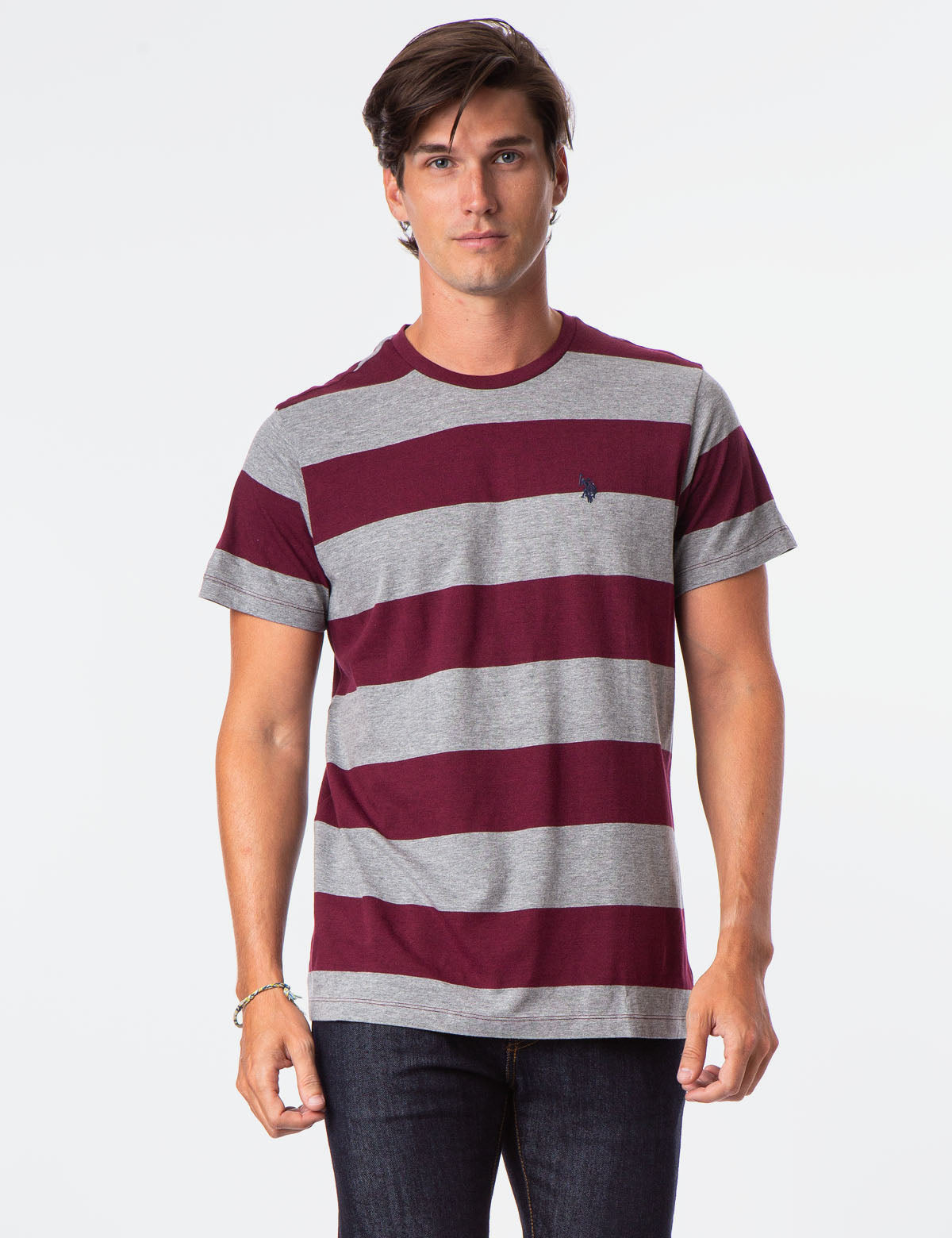 RUGBY STRIPED T-SHIRT