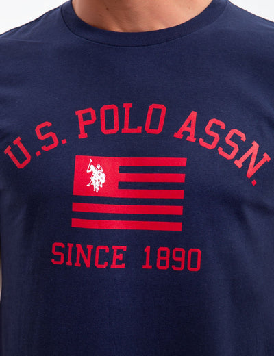 U.S. POLO ASSN. FLAG CREW NECK - U.S. Polo Assn.