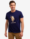 U.S. POLO ASSN. LOGO GRAPHIC TEE-SHIRT - U.S. Polo Assn.