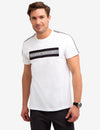 BLACK MALLET CHEST STRIPE T-SHIRT - U.S. Polo Assn.