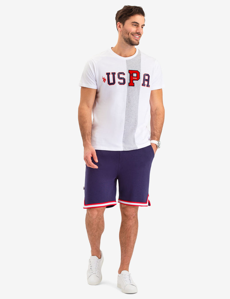 VERTICAL STRIPE USPA T-SHIRT