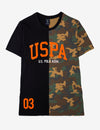 USPA PIECED CAMO T-SHIRT - U.S. Polo Assn.