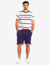 SIDE STRIPE CHEST LOGO T-SHIRT - U.S. Polo Assn.