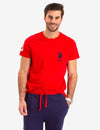 SOLID LOGO T-SHIRT - U.S. Polo Assn.