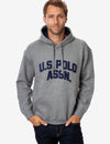 APPLIQUE LOGO COLLEGIATE HOODIE - U.S. Polo Assn.