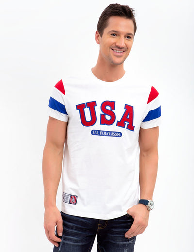 USA CREW NECK TEE - U.S. Polo Assn.