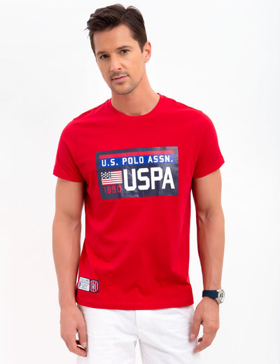 USPA CREW NECK T-SHIRT - U.S. Polo Assn.