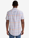 LARGE PLAID HEATHER POPLIN SHIRT - U.S. Polo Assn.