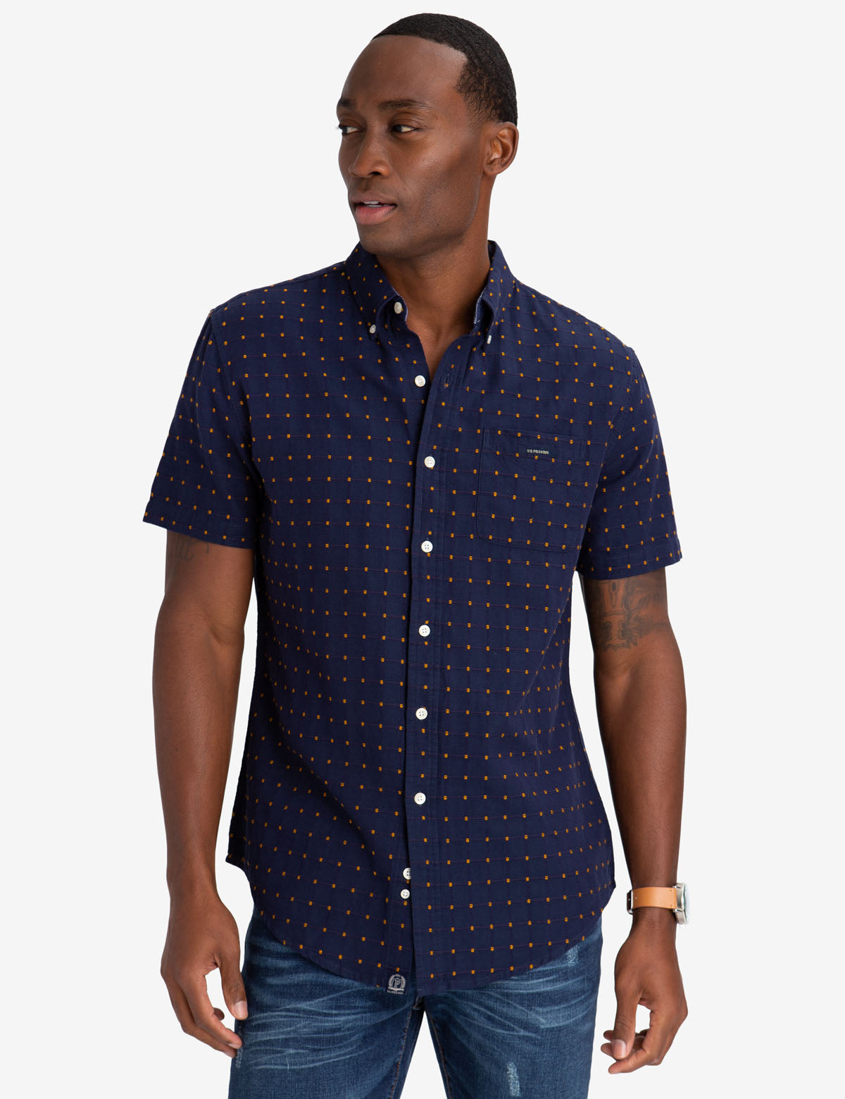 DOBBY  SHIRT - U.S. Polo Assn.