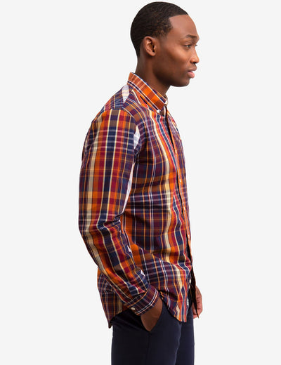 PLAID POPLIN SHIRT - U.S. Polo Assn.