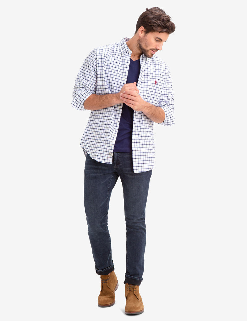 SMALL PLAID OXFORD SHIRT