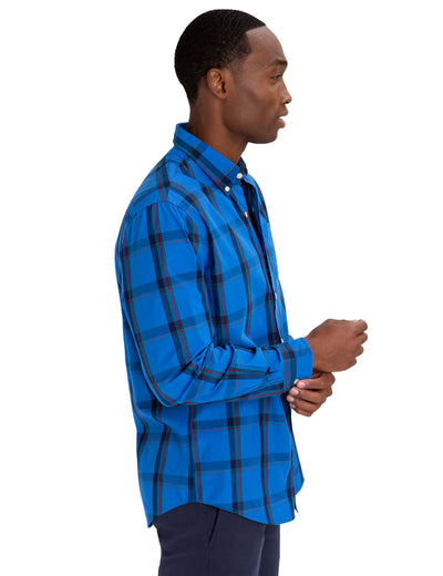 MULTI COLOR PLAID POPLIN SHIRT - U.S. Polo Assn.