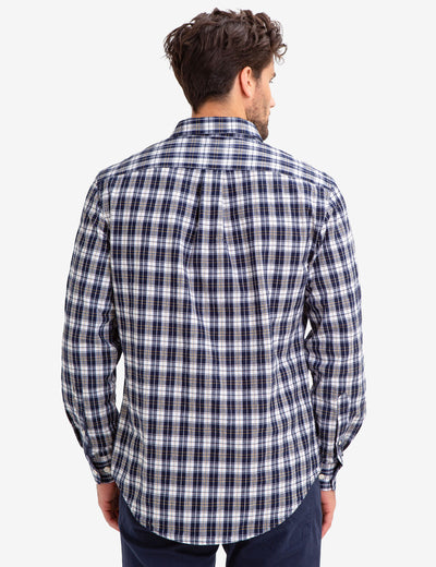 PLAID WOVEN SHIRT - U.S. Polo Assn.