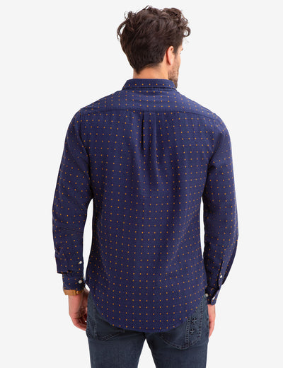 DOT DOBBY SHIRT - U.S. Polo Assn.