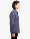 BLACK MALLET CANVAS SLUB CHAMBRAY SHIRT - U.S. Polo Assn.