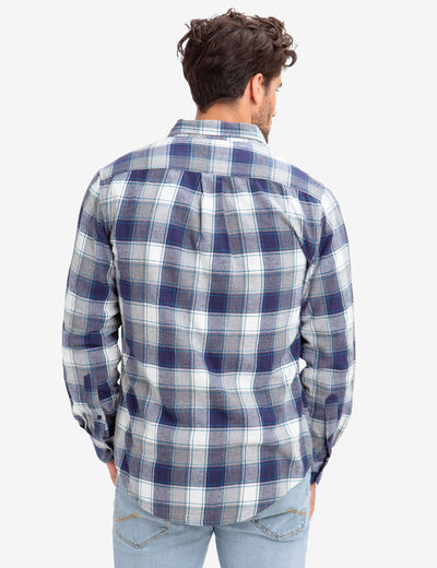 BLACK MALLET HEATHER PLAID SHIRT - U.S. Polo Assn.