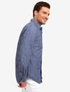 CLASSIC FIT TWO POCKET CANVAS SHIRT