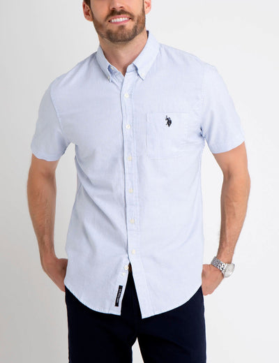 BLACK MALLET SLIM FIT SHIRT