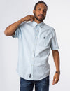 LIGHT WASH SLIM DENIM SHIRT - U.S. Polo Assn.