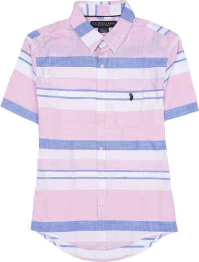 STRETCH SLIM STRIPE SHIRT