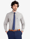GEOMETRIC PRINTED DRESS SHIRT - U.S. Polo Assn.