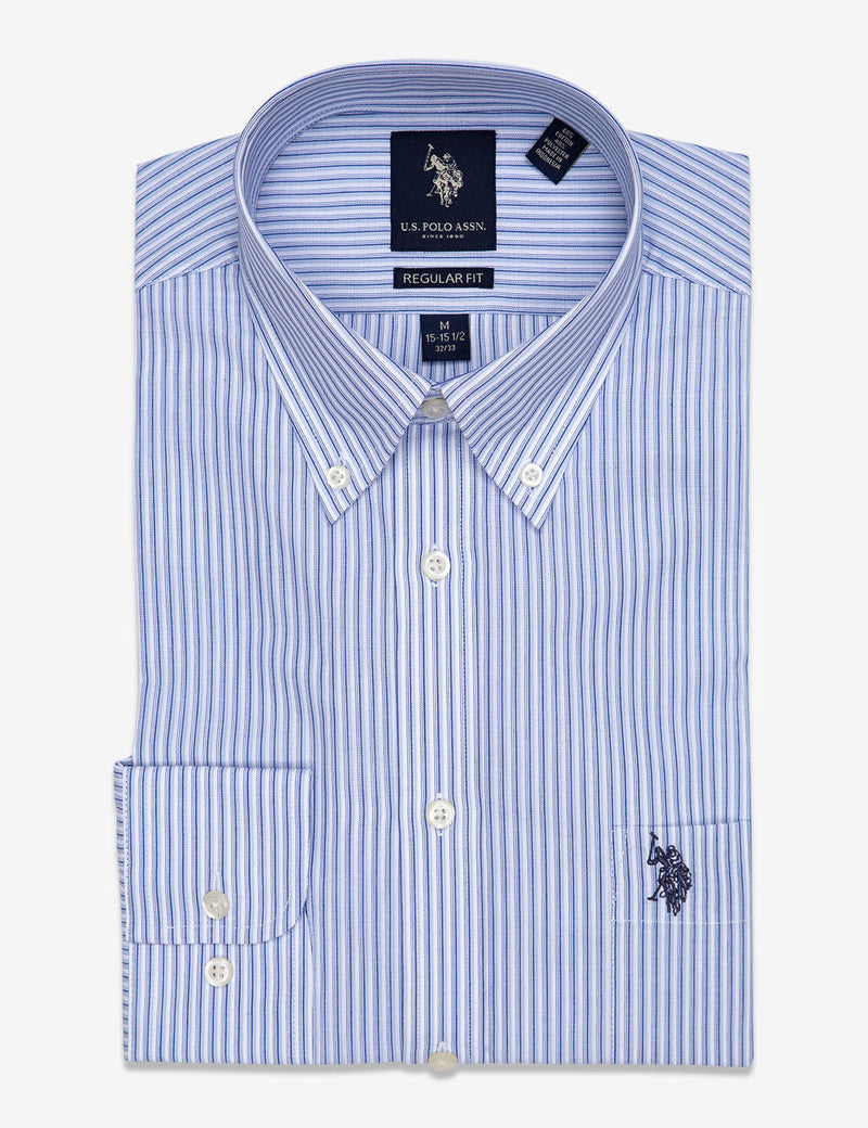 DOUBLE STRIPED DRESS SHIRT
