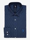 GEOMETRIC PRINTED SHIRT - U.S. Polo Assn.