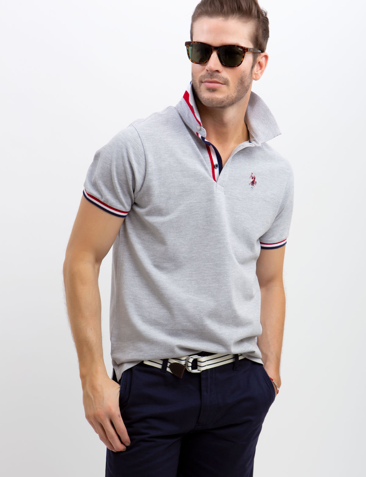 MULTI TIPPED POLO SHIRT