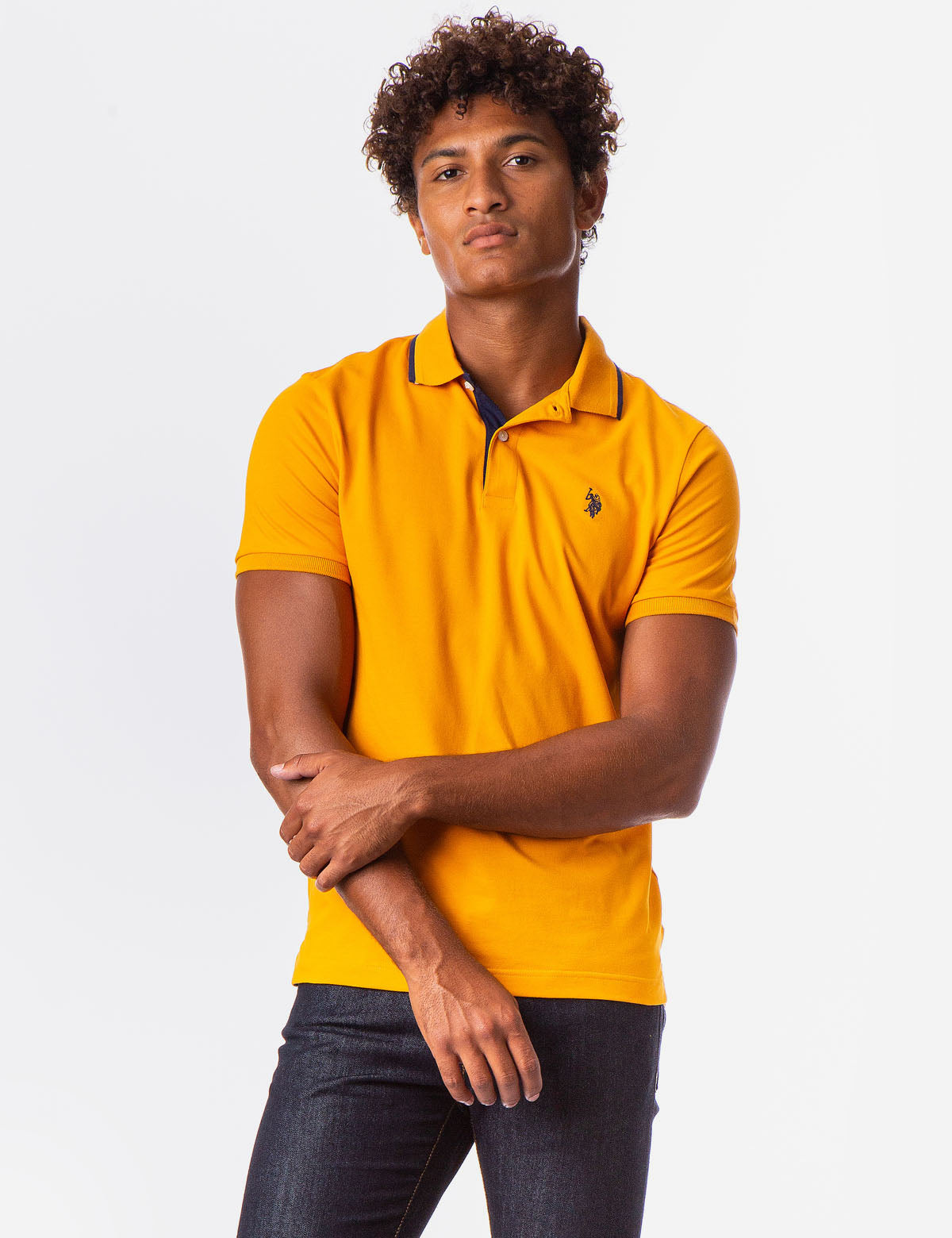 STRETCH FIT POLO SHIRT - U.S. Polo Assn.
