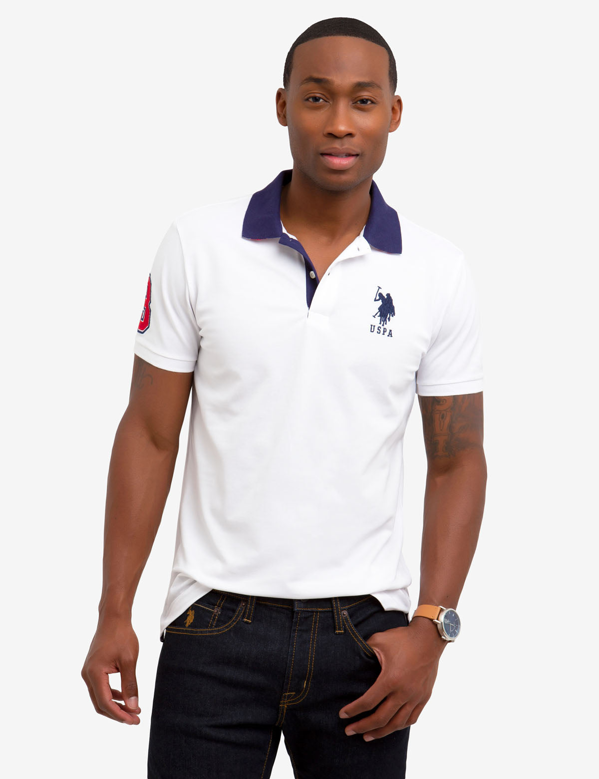 SLIM FIT STRETCH POLO SHIRT - U.S. Polo Assn.
