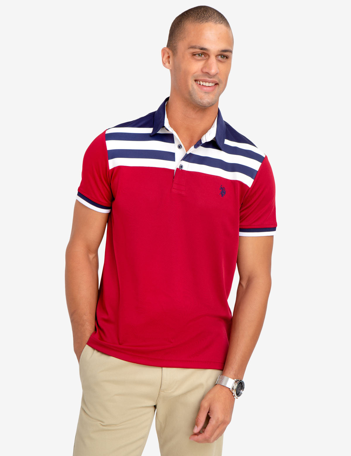 SLIM FIT PERFORMANCE POLO SHIRT